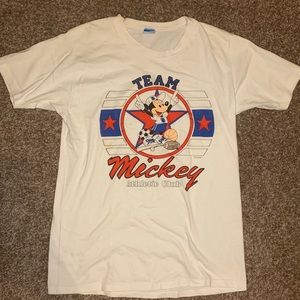 Vintage Mickey Mouse athletic club T-shirt